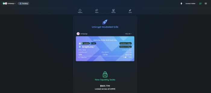 شرح منصة الاكتتابات Unicrypt وكيفية التسجيل فيها